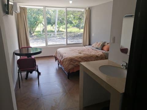 Habitación ideal para unas cómodas vacaciones