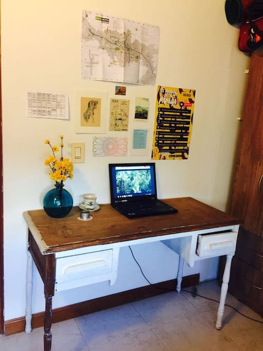 A desk in your room