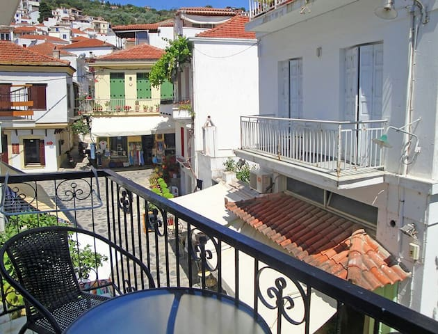 """""""Yiayia's"""" guesthouse in Skopelos - Σκόπελος  - Appartement"""