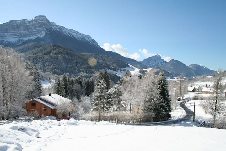 Chalet La Cinteria in the Chartreuse Mountains