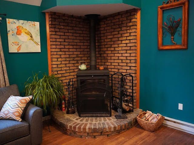 A fire starter log and wood will be provided for each day of your stay.