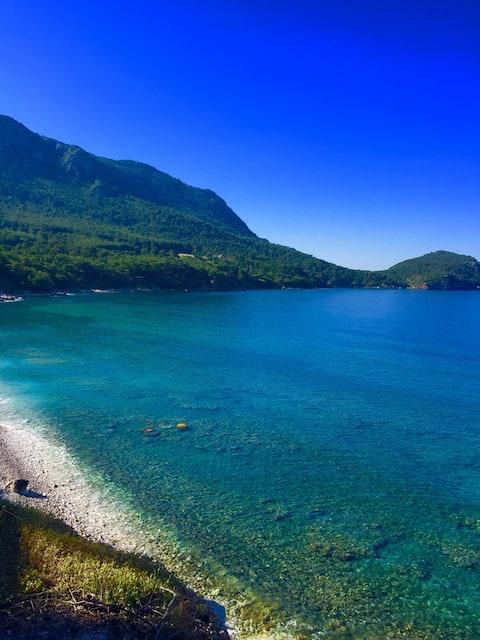 Sedir Home Denize Sıfır Tatil, Korsan Koyu'na 4 km
