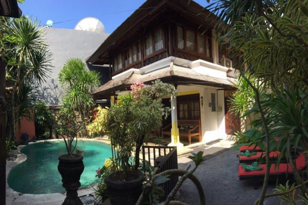 1 Hidden Garden Villa Legian Bali Villas For Rent In