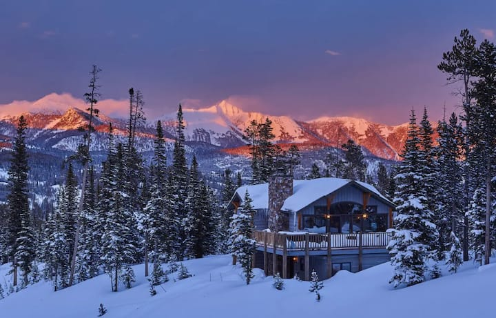 Moonlight Basin Custom Home | Ski-in/out of this Luxury Home.