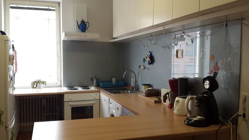 Cosy room in flat, walking distance to city centre - Salzburg - Appartement