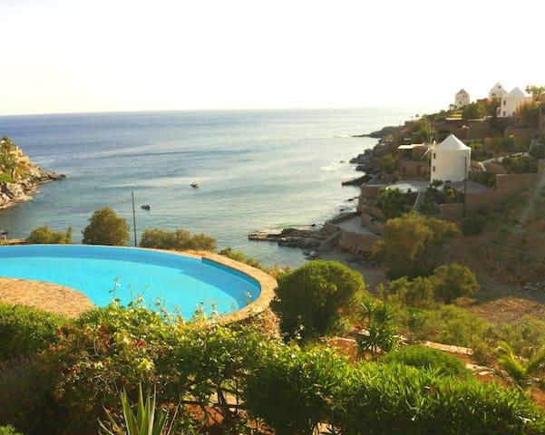 Poseidon Villa on Koundouros beach - Koundouros - Kondominium