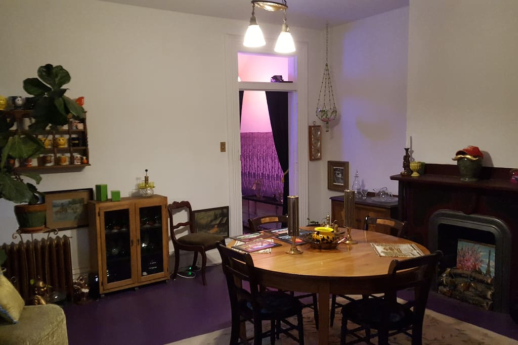 This is the main dining room of the home.