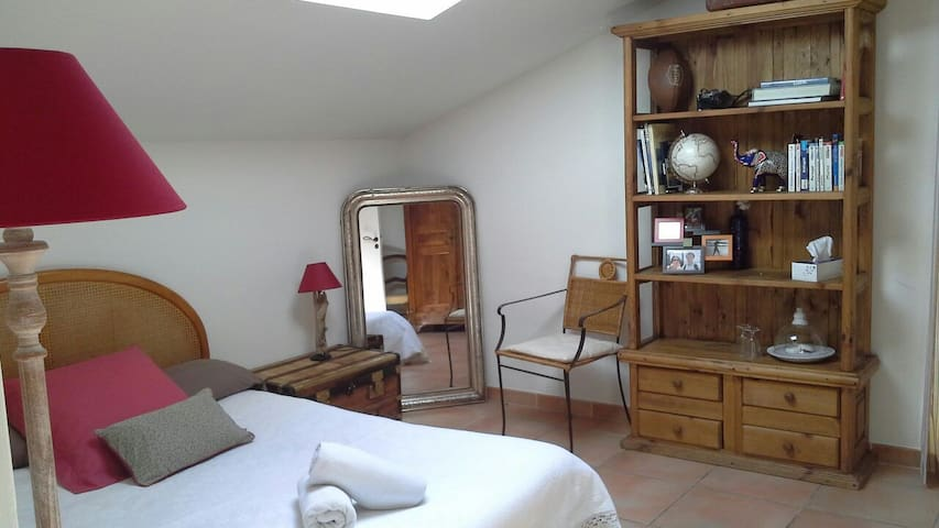 Chambres dans villa avec jardin. - Perpignan - Bed & Breakfast