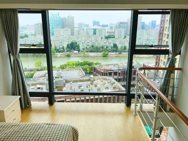 龙鼎万达公寓毗邻龙鼎万达近嘉兴学院越秀小吃一条街八佰伴购物中心