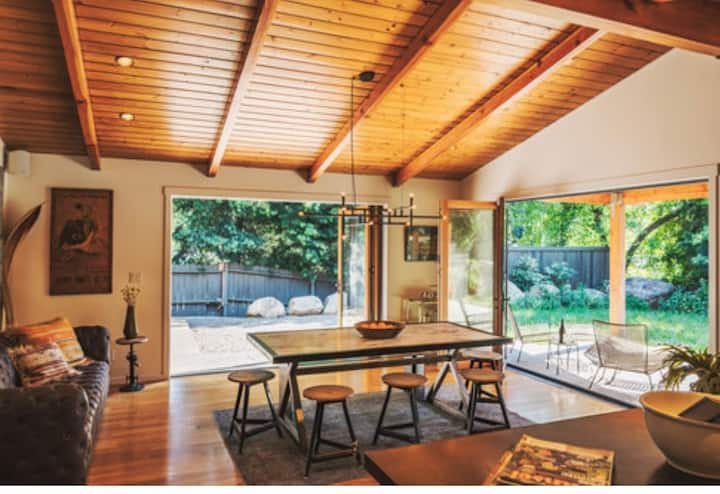 SWEETWATER - Boho Chic House in the woods pool spa
