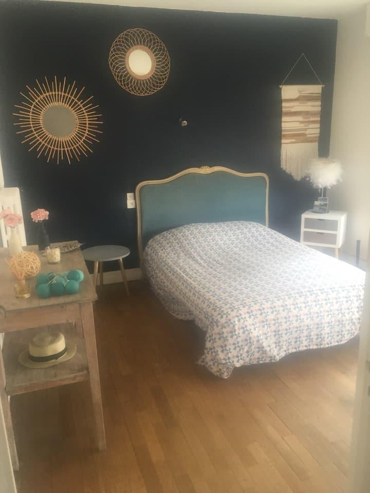 Chambre cosy à Lisieux