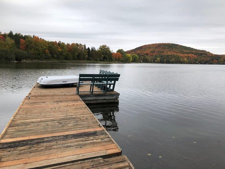 Chalet Tremblant, lac Maskinongé
