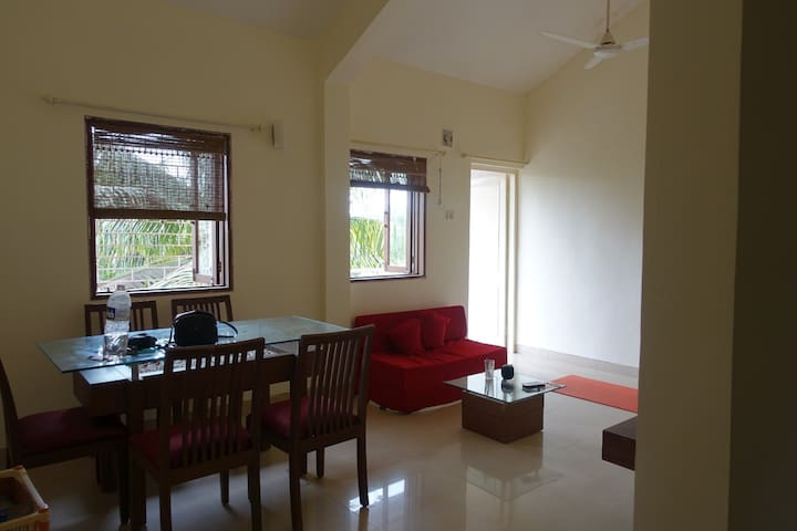 Briza apartments close to beach, North Goa, India