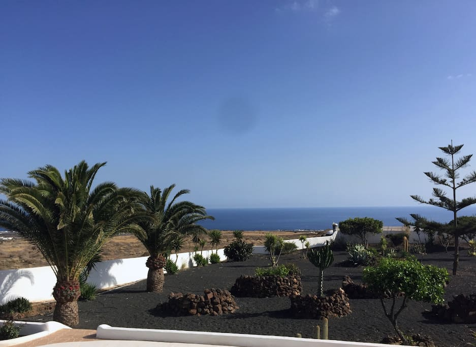 Sea and garden views from your  terraces.