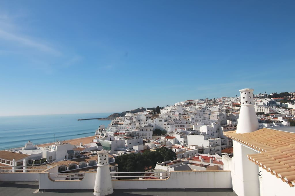 Amazing sea view in Albufeira Old Town
