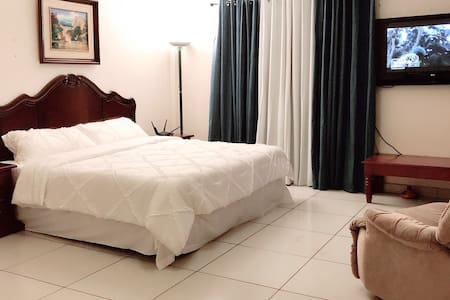Executive Hotel Bedroom/ King bed, A/C