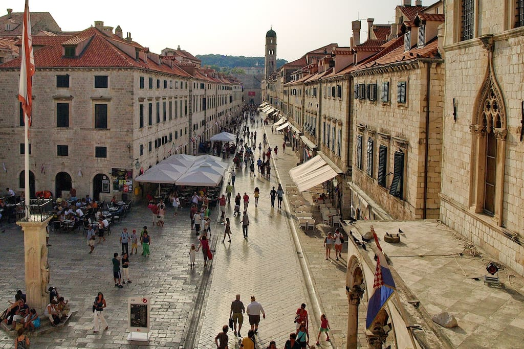 You are just 2 min away from the most famous street in Dubrovnik, Stradun