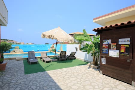 Apartment with pool at 250m from the beach Tropea - Briatico