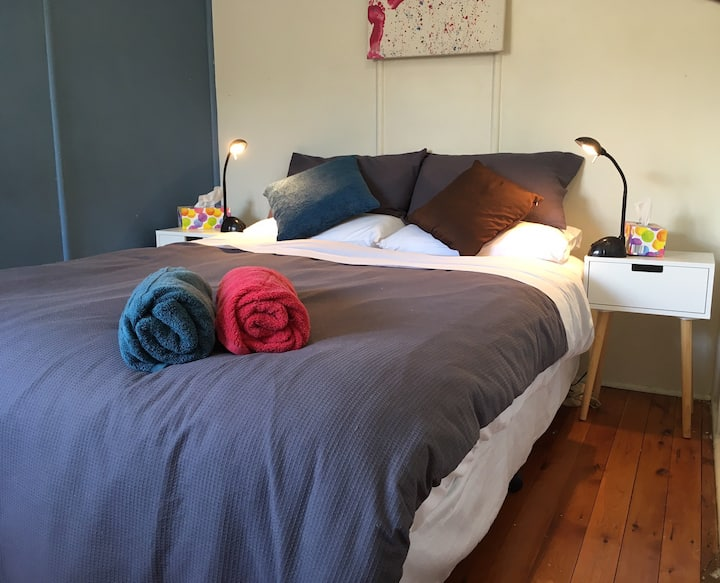 Queenslander close to CBD and Hospitals (room 3)