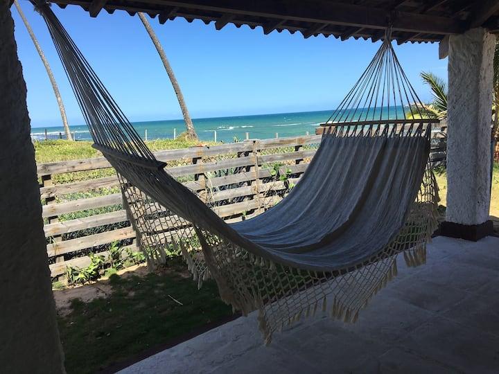 Casa na Praia em Busca Vida - Bahia