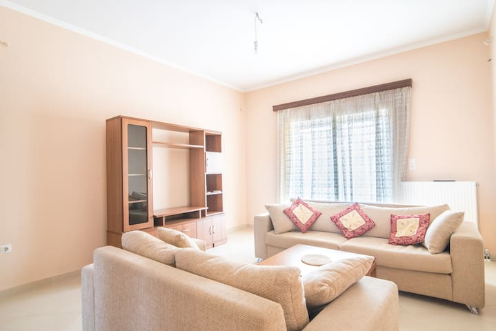 Cozy Flat near in Ancient Olympia - Kréstena - อพาร์ทเมนท์