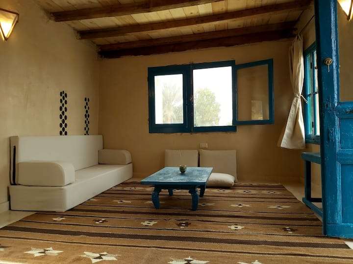 "Abouzeid's house,  ""Panorama lake view""."
