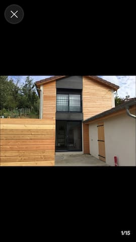 L'atelier - Maison d'hôte - Rochetaillée-sur-Saône - 一軒家