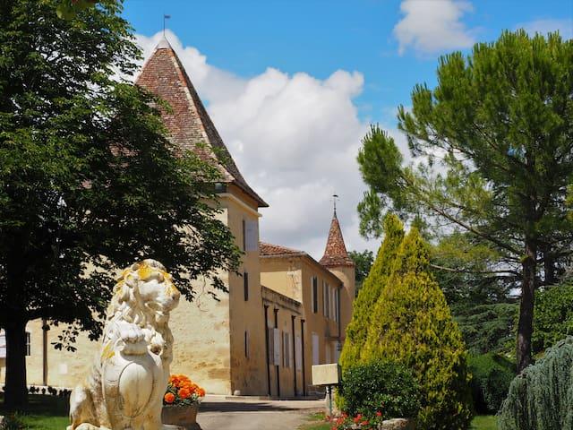 Escale au Domaine du château Larroque