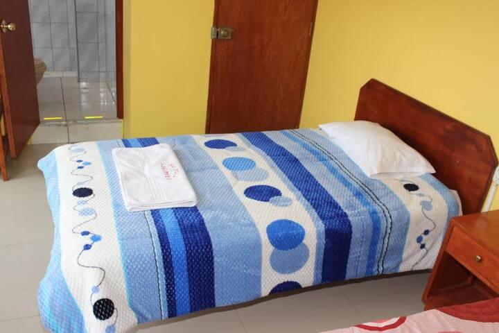Habitación 1 cama - plaza y media para una persona