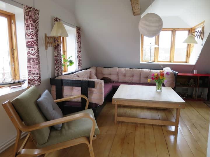 Etværelses lejlighed i hjertet af Svendborg