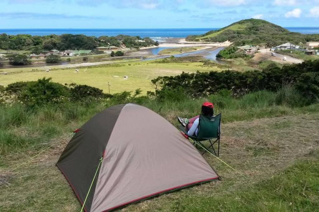 Camping R50 pp/per night