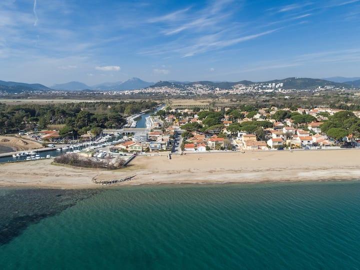 MAISON A LA MER à 150m de la plage  (grand T3/T4)