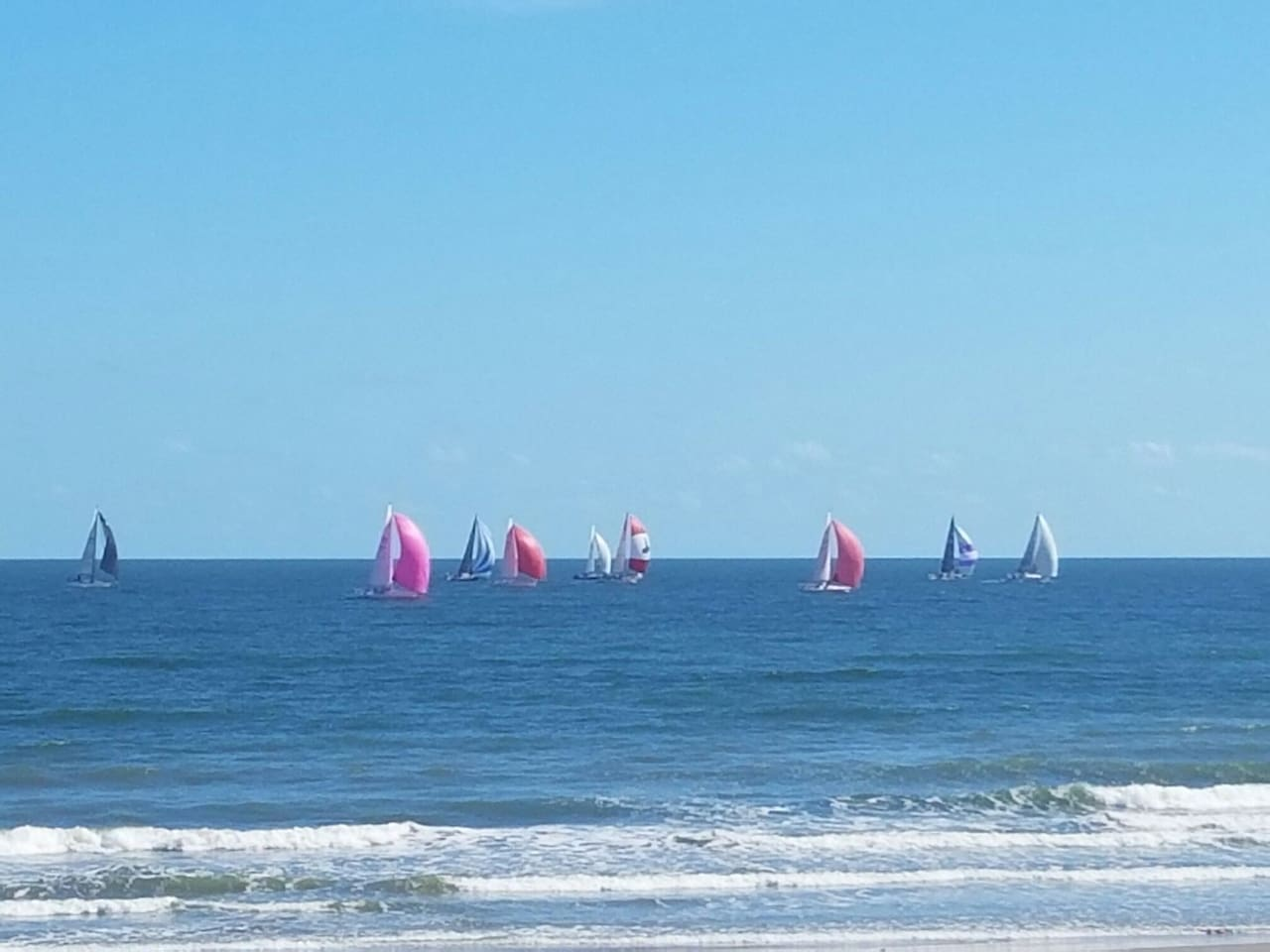 Our Place is a quick and easy stroll to the Seawall and some of Galveston's beautiful beaches!!