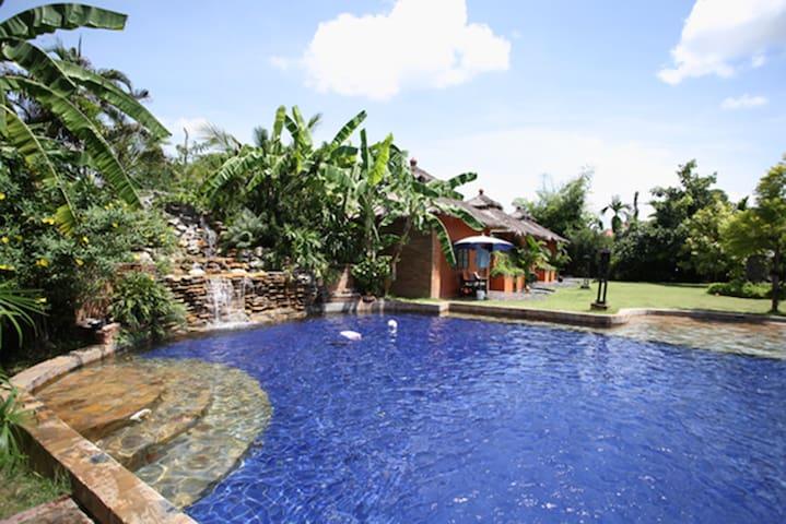 豪华别墅家庭房 - Tambon San Sai Noi - Ev