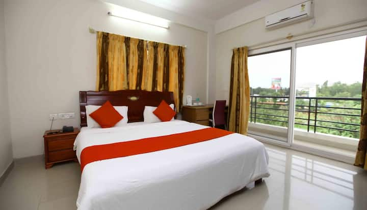 Comfortable Budget 2 BHK close to the Airport