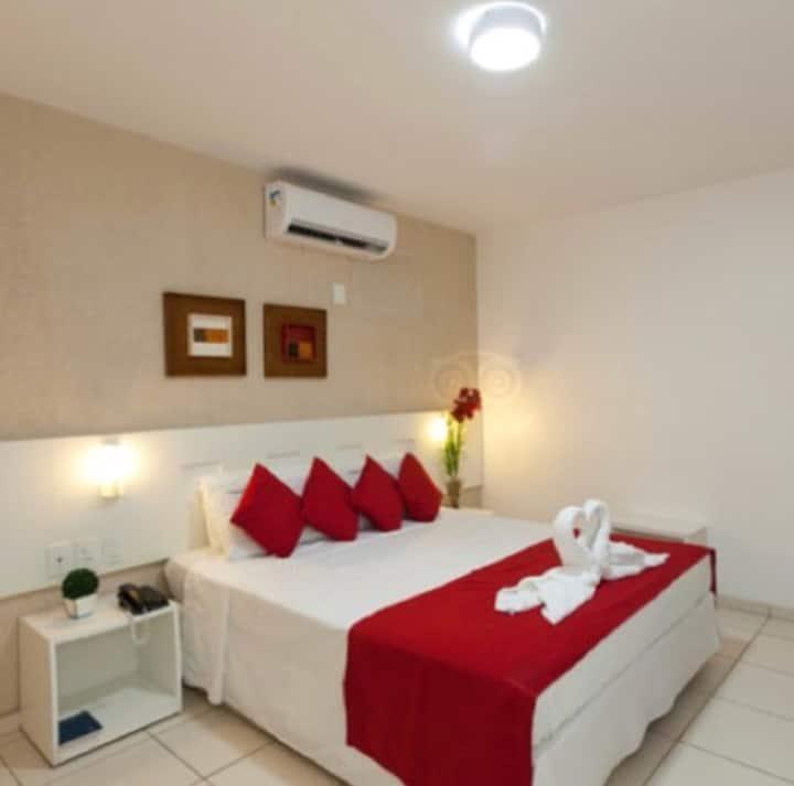 Quarto c/ cama de casal a 100 mt da praia  Jatiuca