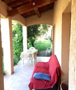 House and garden - La Gaude - Haus