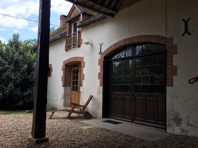 Meublé de tourisme au calme sur les bords de Loire
