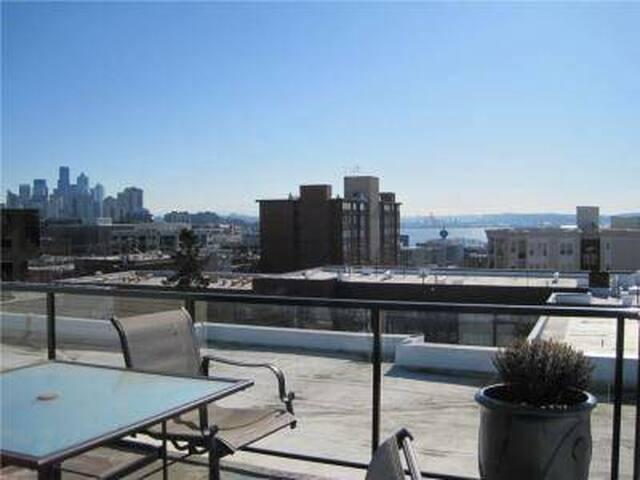 Charming, European 1BD Apartment in Queen Anne - Seattle - Flat
