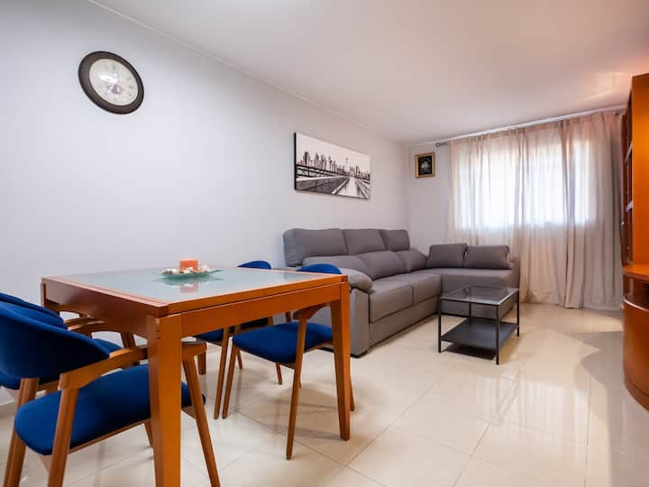 Beautiful two-bedroom apartment in Cornellà