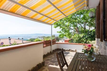 """""""Appartamento gardenia""""Maremma vista  panoramica"""