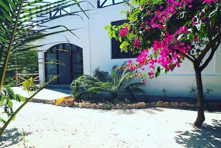 Private Room 2 with A/C at Mwambani Villa!