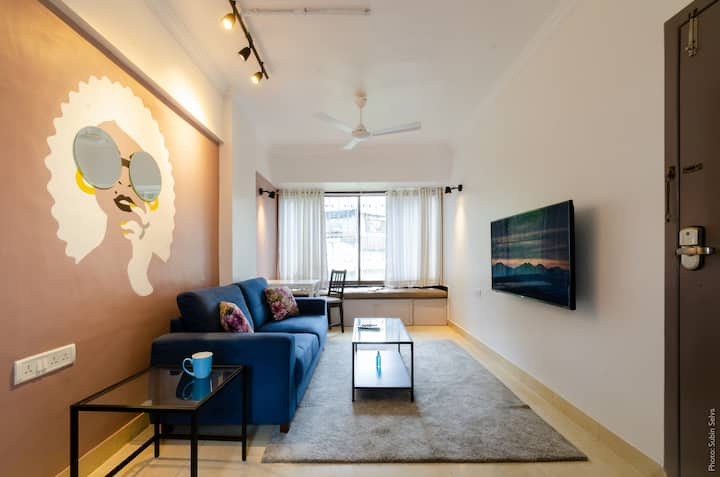 [SANITIZED]Sassy- Well Appointed, arty 1BHK studio