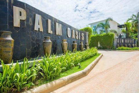 Palm Oasis Pool Luxury Villa