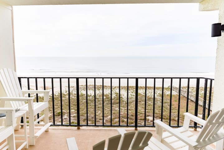 Beachfront - Ocean, Pool, Sunrise + - Fernandina Beach - Wohnung