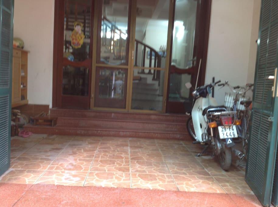 bike and motobike parking