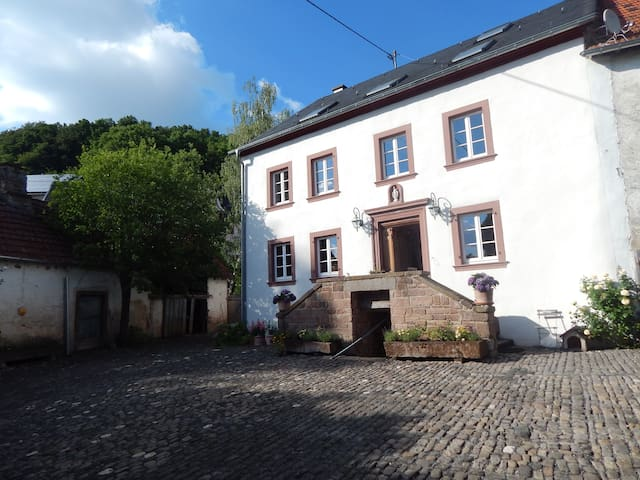 Relaxen in 300 Jahre altem Hofgut 2-4 - Basberg - Bed & Breakfast