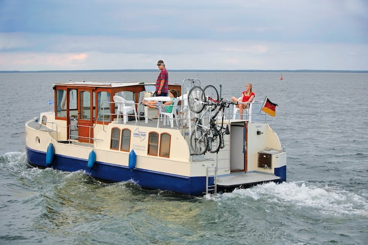 Hausboot Kormoran 1140