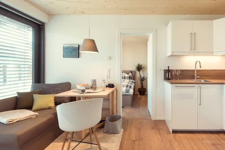 Business-Apartment 04 mit Gartenblick