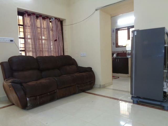 Shared AC bed in fully furnished service apart